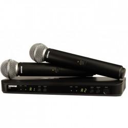 SHURE BLX288/SM58 mikrofon bezprzewodowy podwójny