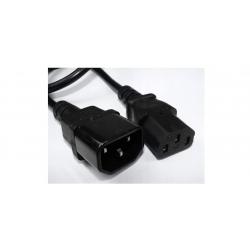 Kabel zasilający podaj dalej przelotka 0,5m